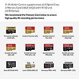 YI 90003 4K Action Kamera, schwarz