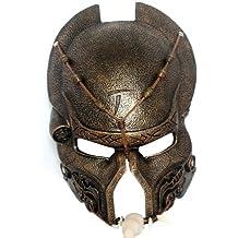 OMO superii Mardi Gras vénitien Mascarade Halloween Alien Vs Predator réplique Warrior Film Costume Masque en résine