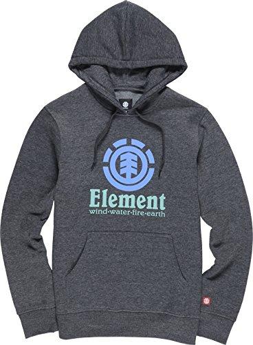 Element Vertical HO Felpa charcoal heahter