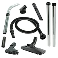 Spares2go Complete Wet & Dry 1.8m Hoover Hose, Rods, Floor & Mini Tool Kit for Numatic Henry Hetty etc Vacuum Cleaners