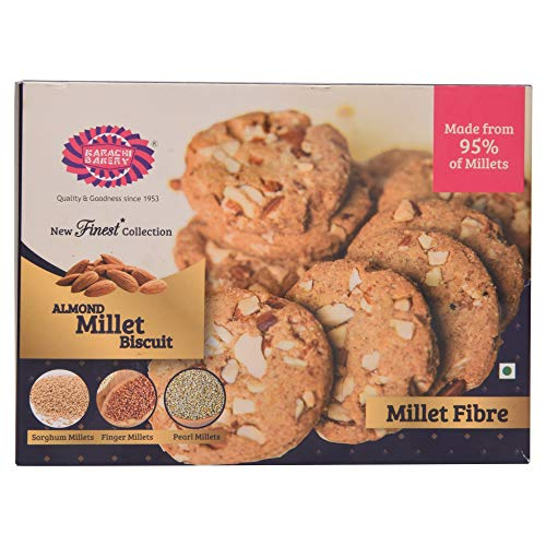 Karachi Bakery Almond Millet Biscuits, 300g