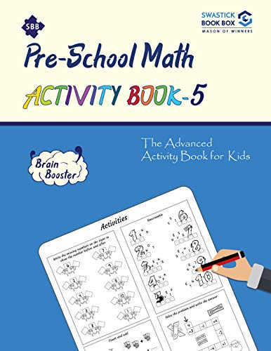 SBB Preschool Math Activity Book - 5