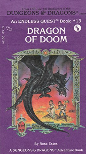 Dragon of Doom (Dungeons & Dragons: Adventure) by Rose Estes (1983-12-01)