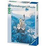 Ravensburger Neuschwanstein Castle in Winter 1500 piece jigsaw puzzle