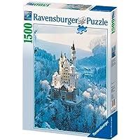 Ravensburger 16219 Neuschwanstein d'inverno Puzzle 1500 pezzi