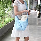 Myyxt Blu Animale Spalla Borsa Hands-Free Cane Gatto Fionda Vettore Zaino