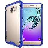 TECHGEAR® Samsung Galaxy A3 2016 (Séries SM-A310) [FUSION ARMOUR] Coque Protective Svelte Anti-Choc (Bleu/Givré)