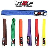 R2F Sports Karatè Judo Taekwondo Arti Marziali Multi Colore Cinture