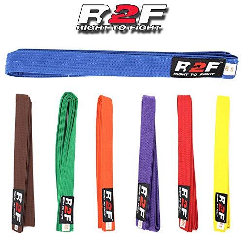 R2F Sports Karate Judo Taekwondo Kampfkünste Multi Farbe Gürtel -