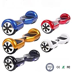 "Patinete electrico patin scooter 6,5"" monociclo hoverboard skate elige color"
