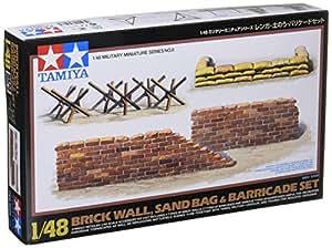 Tamiya - 32508 - Maquette - Barricade et Sacs de Sable - Echelle 1:48