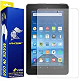 "ArmorSuit MilitaryShield - Amazon Fire 7"" Matte Screen Protector (2015 Released) - Anti-Glare / Anti-Fingerprint & Anti-Bubble Shield + Lifetime Replacement"