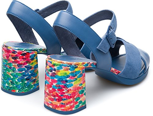 Kara Femme Bleu 003 Camper K200558 Chaussures Habillées Uqx4dd7w