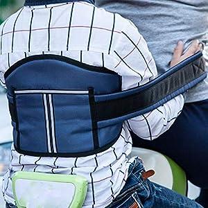 51CkNCiLIeL. SS300 Ljdgr Accessori per Biciclette Cintura di Sicurezza per Motocicletta per Bambini Protegge Cinghie di Arrampicata Cintura…