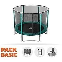 Preisvergleich für Pack Trampolin Basic jump' Up 250mit Netz + Leiter + Kit Ankerstange