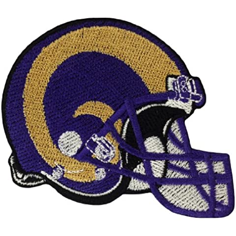 ST. LOUIS RAMS Casco Logo ferro (Logo Del Casco Patch)