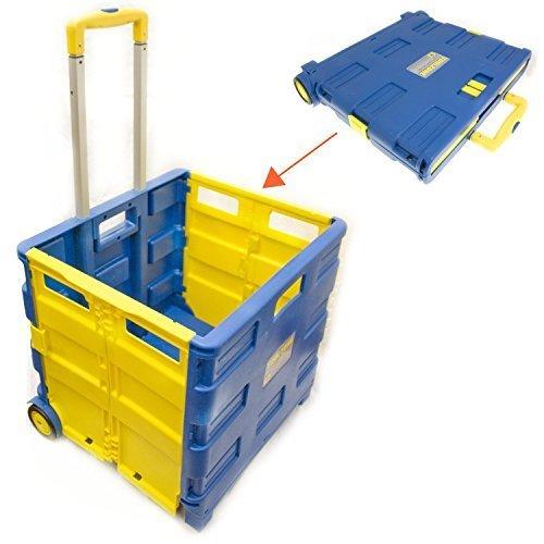 Toolzone Extra Large Folding Storage Cart Trolley 35Kg Capacity by Toolzone Test