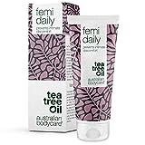 Australian Bodycare Femi Daily - Intimpflege Damen | 100% Natürlich & Vegan | Mit Teebaumöl. Verhindert intime Beschwerden im Genitalbereich wie Juckreiz im Intimbereich, Reizung & Trockenheit, 100ml
