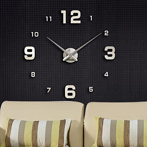 modern-mute-diy-large-wall-clock-3d-sticker-home-office-decor-gift-silver