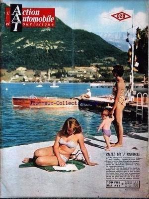 ACTION AUTOMOBILE ET TOURISTIQUE (L') du 01/05/1956 - RALLYE DES 7 PROVINCES.