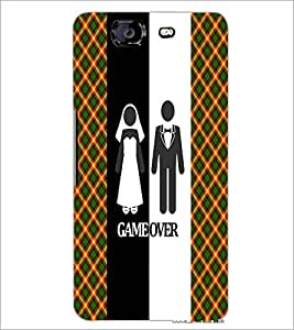 PrintDhaba Couple D-3991 Back Case Cover for MICROMAX A350 CANVAS KNIGHT (Multi-Coloured)