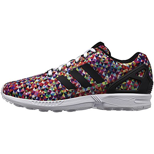 adidas ZX Flux Impression photo Multicolore de torsion Baskets pour homme Noir
