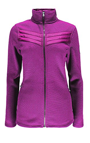 Spyder Divine Mid WT Core Sweater Damen Pullover, Damen, rosa, XS