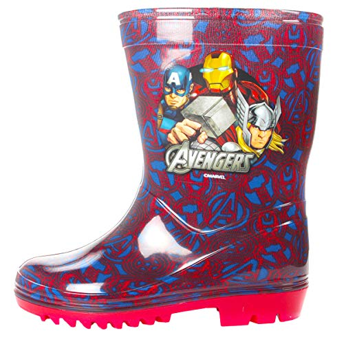 Boys Marvel Avengers Newton Wellies