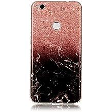Huawei P9 lite 2017 Case, Huawei P9 lite 2017 Marble Case, BONROY® TPU Soft Slim-Fit Ultra-Thin Case Bumper Anti-Scratch Shock Proof Rubber Silicone Skin Cover for Huawei P9 lite 2017