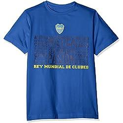 Boca Juniors Mistica Camiseta, Niños, Azul, S