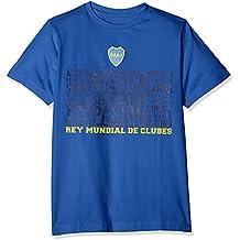 Boca Juniors Mistica Camiseta, Niños, Azul, XXL