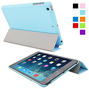 Snugg Ultra Thin Case with Flip Stand for Apple iPad Mini/Mini 2 (Baby Blue)