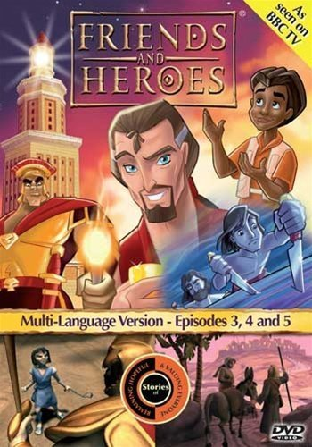Preisvergleich Produktbild Friends and Heroes Multi-Language Episodes 3,  4 & 5 - Includes Bible Stories David and Goliath,  Jesus's Birth the Nativity and Gideon