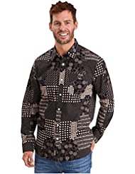 Joe Browns Homme Chemise Patchwork