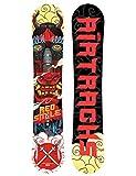 Airtracks Red Smile Snowboard Wide ibrida Rocker/All Mountain/Freeride/156159162cm, Uomo