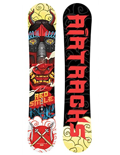 AIRTRACKS SNOWBOARD RED SMILE 162 cm -