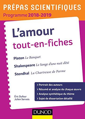 L'amour Tout-en-fiches - Prépas scientifiques 2018-2019 (French Edition)