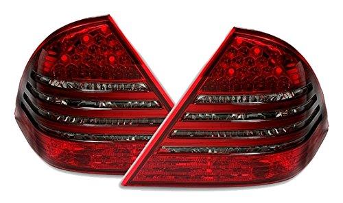 LED Rückleuchten Set in Rot - Smoke (Led Eagle Eye Gelb)