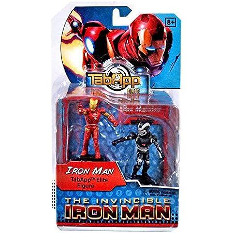 Marvel Heroclix Iron Man 3 TabApp Elite - Muñeco de acción (2 unidades, compatible con iPad)