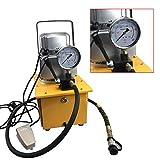 SHIOUCY 7L 700 Bar Pompa idraulica elettrica Valvola Manuale a Semplice Effetto 220V 750W 1400r / min