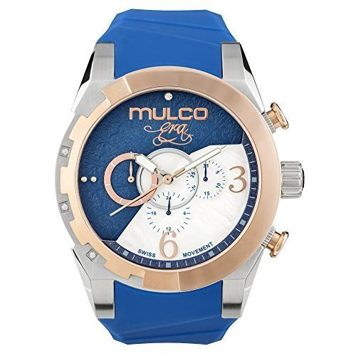 Mulco MW5 – 4067 – 043 Bela era Collection Blue Band Swiss orologio al quarzo