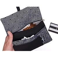 Portatabacco borsello in stoffa 'Rombi'
