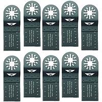 Tops Tools - Hojas de sierra de 35 mm para madera. Compatibles con herramientas multiuso oscilantes Bosch, Fein Multimaster, Multitalent, Makita, Milwaukee, Einhell, Ergotools, Hitachi, Parkside, Ryobi, Worx