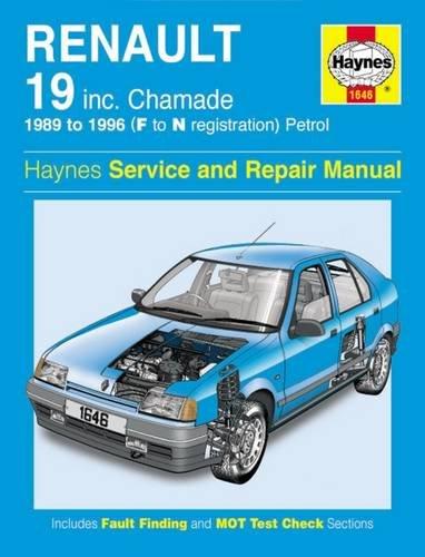 Renault 19 Petrol (89 - 96) F To N