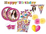 Decorata Party Cumpleaños Coordinado Soy Luna Kit 46f