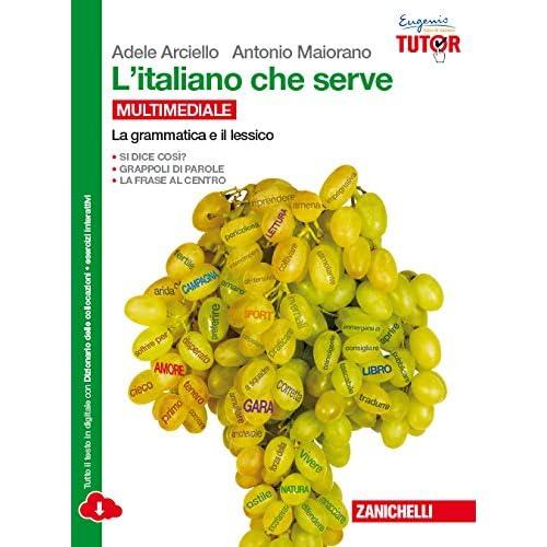 L'italiano Che Serve: La Grammatica E Il Lessico-La Comunicazione. Per Le Scuole Superiori. Con E-Book. Con Espansione Online
