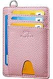 FurArt Klein Geldbörse für Herren und Damen,RFID Schutz,Kreditkartenetui,Mini Portemonnaie Geldbeutel