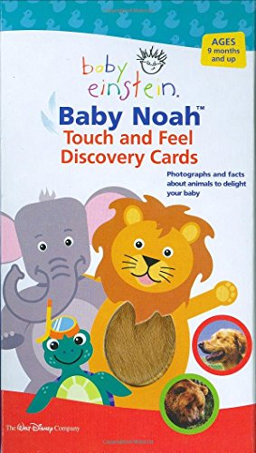 Baby Einstein: Baby Noah Touch and Feel Discovery Cards (Baby Einstein (Special Formats)) by Julie Aigner-Clark (1-Oct-2006) Cards