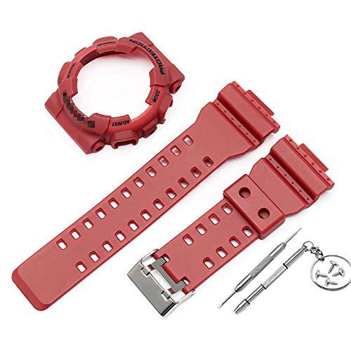 Beatie* Correas para Relojes para Casio G-Shock GA-110 GA100 GD-120 De Los Hombres, Reemplazo Reloj Correa Correa Bisel Cubierta