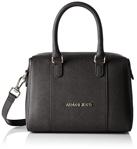 Armani Jeans922542cc857 - Borsa con Maniglia Donna , nero (Nero (Nero 00020)), 14x19x26 cm (B x H x T)